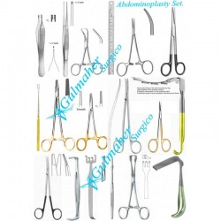 Abdominoplasty Surgery Instruments Set