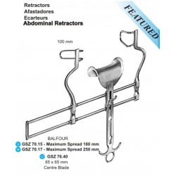 Balfour Abdominal Retractor, 180mm Spread Max.