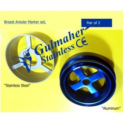 Breast Areola Marker set of 2 for Breast Surgery.