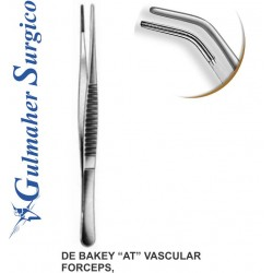 """DeBakey """"AT"""" Vascular Tissue Forceps 15CM / 6"""""""