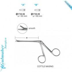 Cottle Masing Mucosa Needle Holder, Smooth Del. 6cm