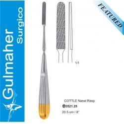 COTTLE Nasal Rasp, T.C. rhinoplasty nose surgery  20.5cm