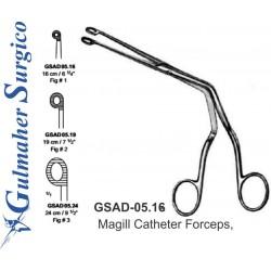 """Magill Catheter Forceps, 16cm- 6-1/4"""""""