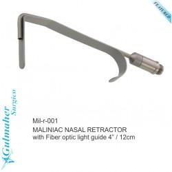 "MALINIAC NASAL RETRACTOR rhinoplasty nose surgery  4"" / 12cm"