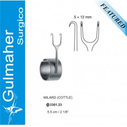 MILLARD COTTLE RETRACTOR WITH FINGER RING|rhinoplasty nose surgery|5.5CM