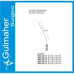 Rosen Suction Needle, Angled