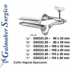 Collin Vaginal Speculum 90 x 25 mm