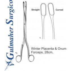 Winter Placenta & Ovum Forceps, 28cm