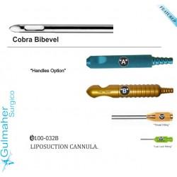 Cobra bibevel Liposuction cannula .