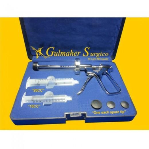 Fat Transfer Tissue Injection Gun, 10-20CC Interchangeable.