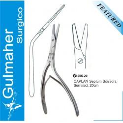 CAPLAN Nasal Septum septate Scissors, Serrated, 20cm