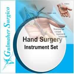 Hand surgery Instrument set