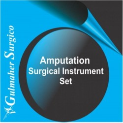 Amputation Surgical Instrument Set for bone surgery