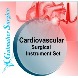 Cardiovascular surgical instrument set - Basic with Trays.