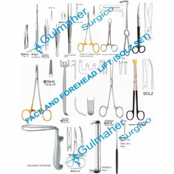 Forehead & Facelift Surgery Instruments