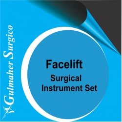 Facelift - Rhytidectomy Surgical Instruments Set
