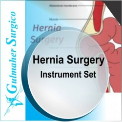 Hernia Surgery Set - Inguinal repair Instruments