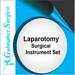 Laparotomy Surgical Set -Celiotomy Instruments