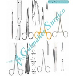Skin Grafting Instruments Set Plastic-cosmetic Surgery