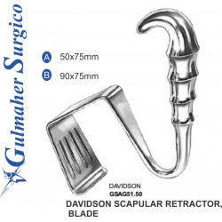 Davidson Scapular Retractor,  Blade 50x75mm