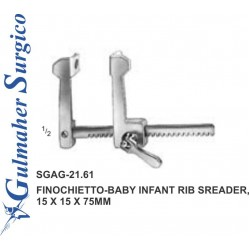 Finochietto-baby Infant Rib Sreader,  15 X 15 X 75mm