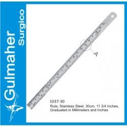 Measuring Rule, Stainless Steel, 30cm