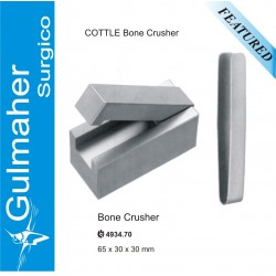 COTTLE CARTILAGE CRUSHER WITH CLAMP.65X30X30MM