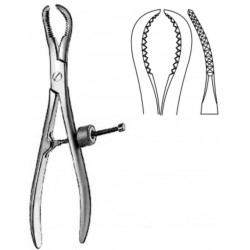 Bone Holding & Reposition Forceps, Adjusted Screw