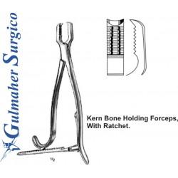 Kern Bone Holding Forceps, With Ratchet.