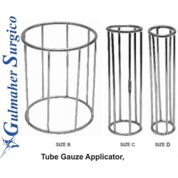 Tube Gauze Applicator, Size B, C and D